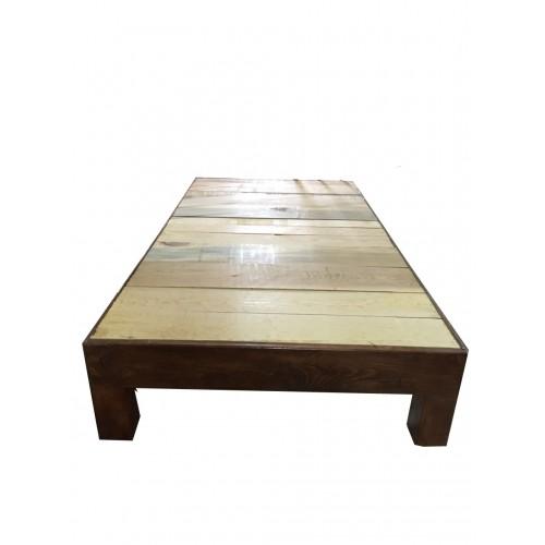 Base de madera para cama individual for Base cama individual