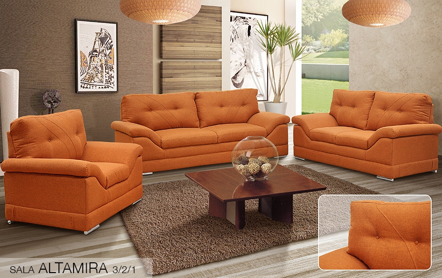 Salas for Altamira muebles